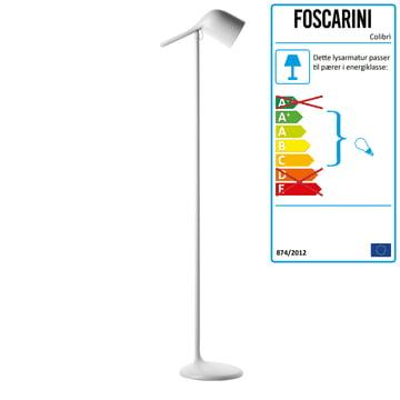 Foscarini – Colibrì gulvlampe