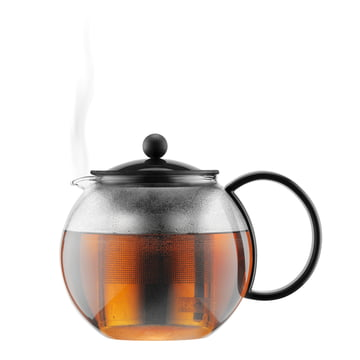 Assam tekande fra Bodum – filter i rustfrit stål, sort