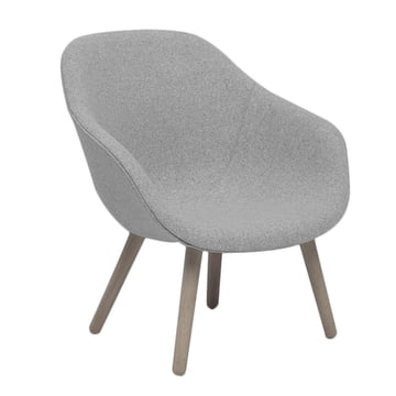 Hay – About A Lounge Chair, lav / AAL 82, Remix lysegrå (123)