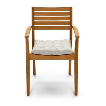 Skagerak – Kapok pude med stol, sandfarvet