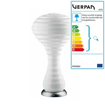 Verpan – New Wave bordlampe