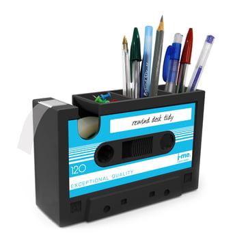 j-me – Rewind tapedispenser, blå