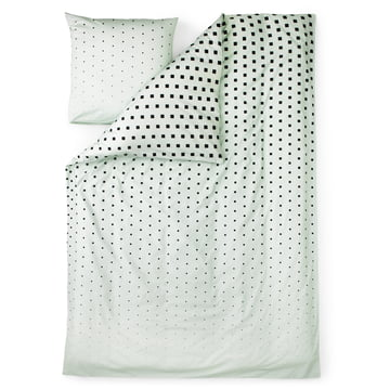 Normann Copenhagen – Cube sengetøj, mintgrøn/enkeltbillede
