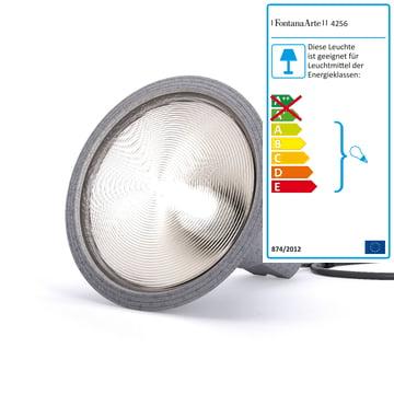 FontanaArte – Yupik bordlampe, grå