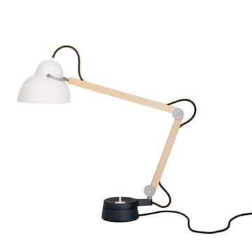 Wästberg – Studioilse bordlampe w084t2, brun ledning