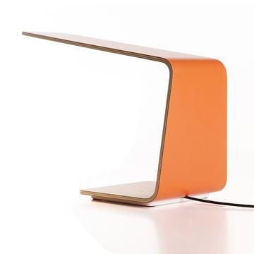 Led 1 bordlampe fra Tunto i orange