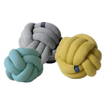 OK Design – Chango pude, jadegrøn, grå, sennepsgul