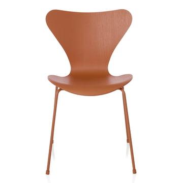 Fritz Hansen – Serie 7 stol, monokrom Chevalier Orange, 46,5 cm