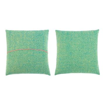 Zuzunaga – pude, grøn 50 x 50 cm, for- og bagside