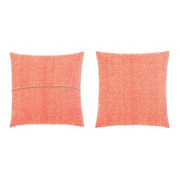 Zuzunaga – pude, orange 50 x 50 cm, for- og bagside