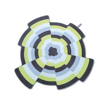 Flat'n – Slices tæppe 001 (D 180 cm)