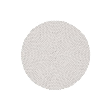 Linéa gulvtæppe rundt fra myfelt, 90 cm