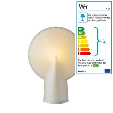 Hay – Pion bordlampe S, naturhvid