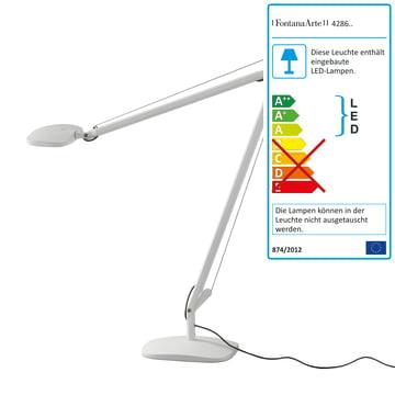 Volée bordlampe med fod