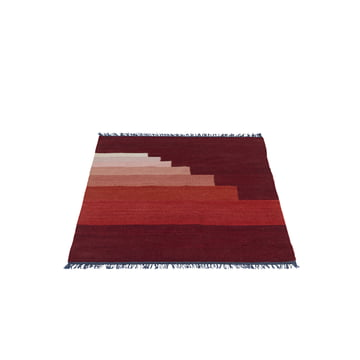 &Tradition – Another Rug AP1, 90 x 140 cm i vulkanrød