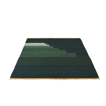 Another Rug AP3 Tӕppe, 170 x 240 cm fra &Tradition i jade green