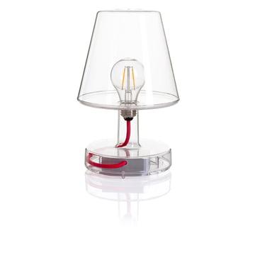 Transloetje bordlampe fra Fatboy, gennemsigtig