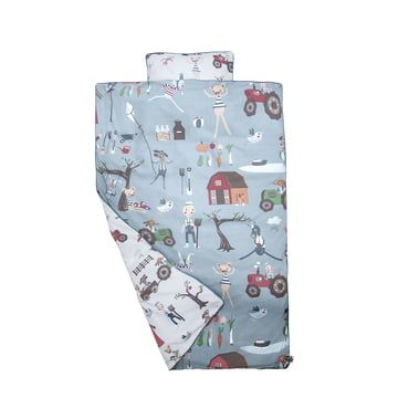 Babysengetøj Farm fra Sebra til drenge
