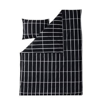 Tiiliskivi pude- og dynebetræk fra Marimekko i sort / hvid