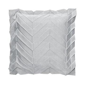 Iittala X Issey Miyake – pudebetræk, 50 x 50 cm zigzag, lysegrå