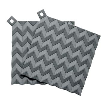 Rig-Tig fra Stelton – Hold-On grydelapper (sæt med 2), grå