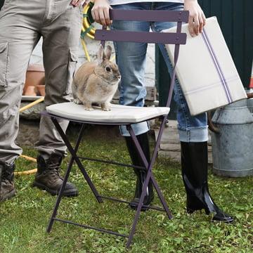 Louise udendørshynde til Bistro stolene