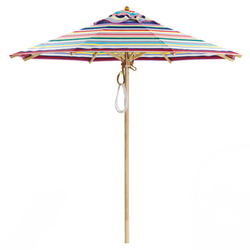 Weishäupl – Classic parasol, Ø 210, rund/Dolan flerfarvet