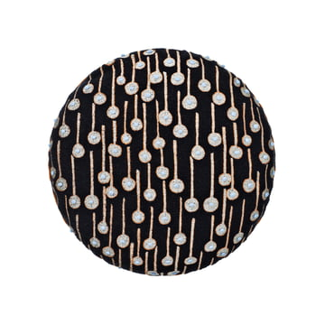 Circular pude med Pop Rain-tema