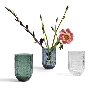 Hay – Colour Vase glasvase i størrelse L, gennemsigtig, blå og grøn