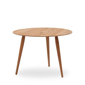 Playround bord, træ, Ø 90 cm, fra bruunmunch i ubehandlet eg