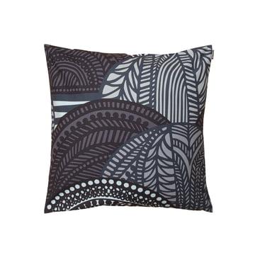 Vuorilaakso pudebetræk 50 x 50 cm fra Marimekko i grå/mørkegrå