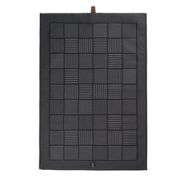 Nanna Ditzel viskestykke 50 x 70 cm fra Rosendahl i sort