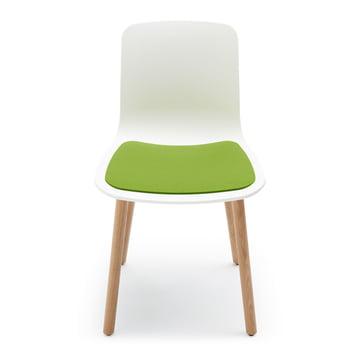 Hey Sign – sædehynde i filt til Hal Wood stol, majgrøn