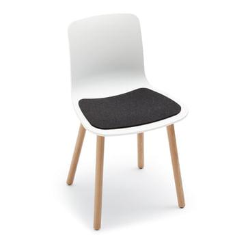 Hey Sign – sædehynde i filt til Hal Wood stol, grafit