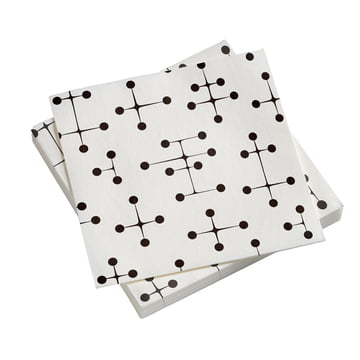Paper Napkins large med Dot Pattern i lys fra Vitra