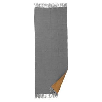 ferm LIVING – Nomad tæppe, stor, 70 x 180 cm, karryfarvet