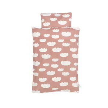 Cloud babysengetøjet fra ferm LIVING i rosa