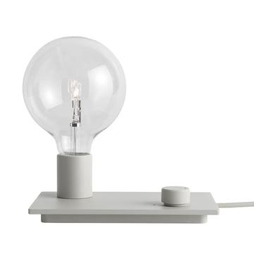 Control bordlampen i grå fra Muuto.