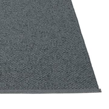 Pappelina – Svea tæppe, Granite/Black Metallic