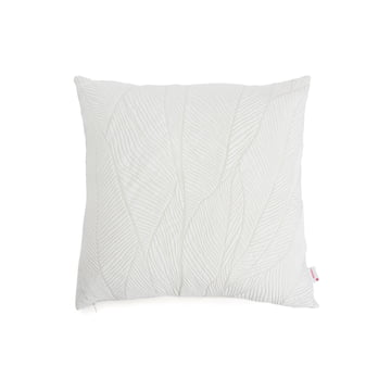 Mika Barr - Pinion pudebetræk, 45 x 45 cm, hvid