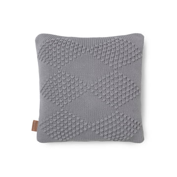 Diamond pude 45 x 45 cm fra Juna i grå