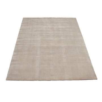 Earth Bamboo tæppe 170 x 240 cm fra Massimo i lys grå