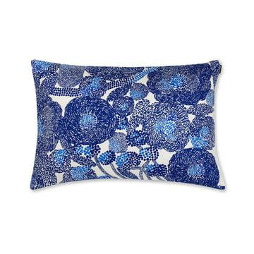 Marimekko – Mynsteri pudebetræk 40 x 60 cm i blå/hvid