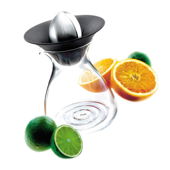 Citruspresser med glaskaraffel fra Eva Solo