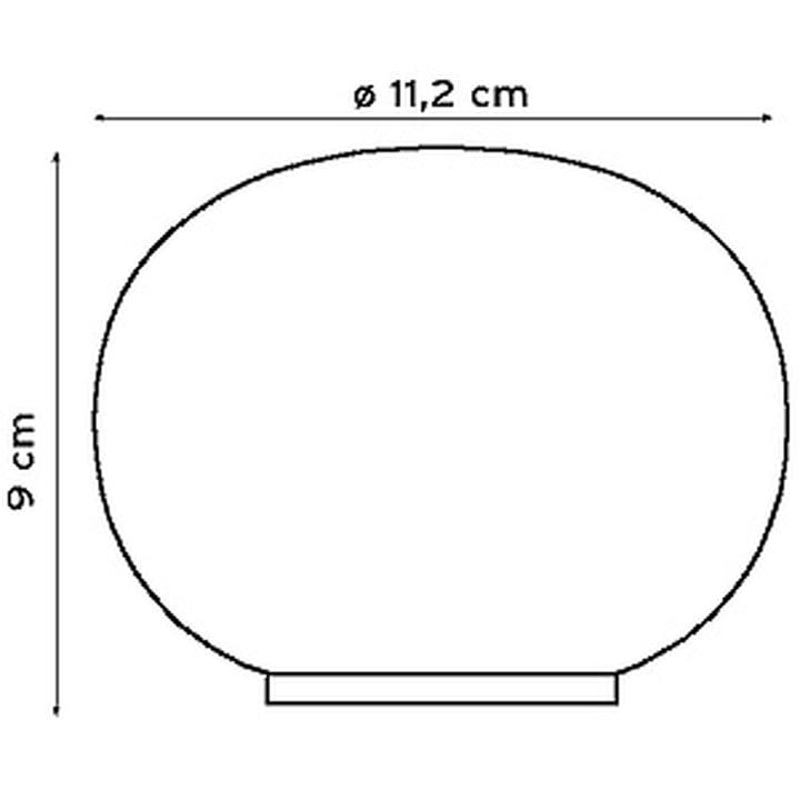 Mini Glo-Ball bordlampe