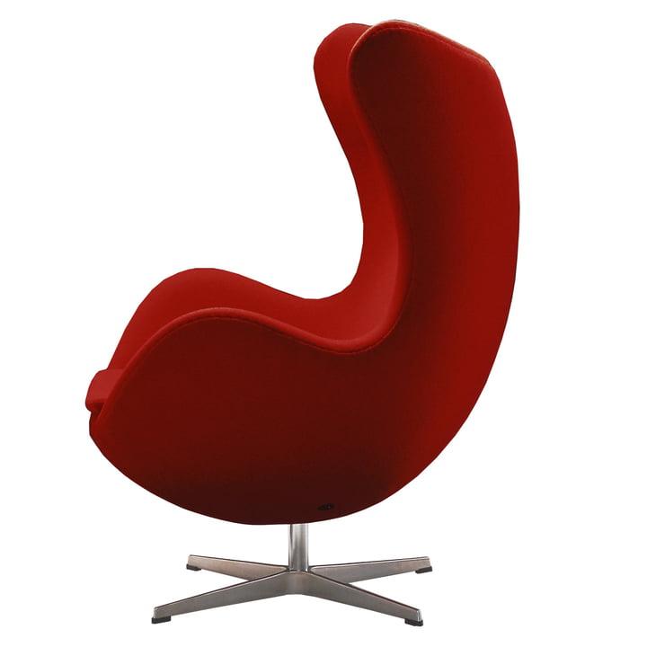 Egg Chair af Fritz Hansen i rødt (Divina 623)