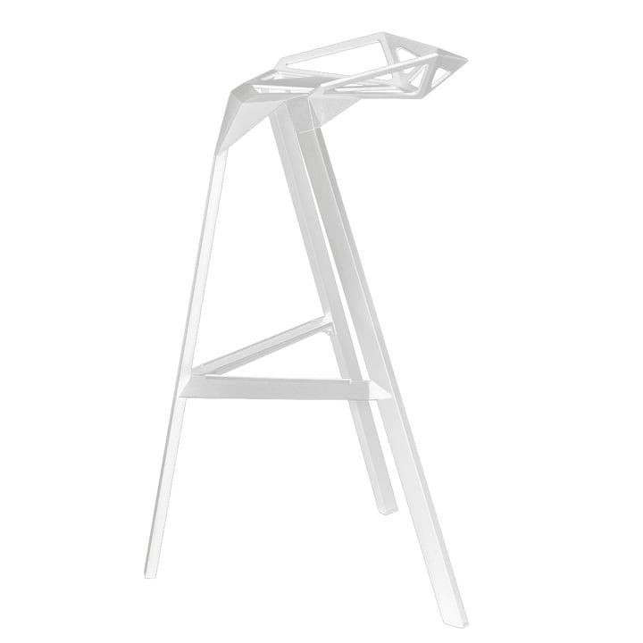 Magis Stool One – sædehøjde 67 cm, hvid