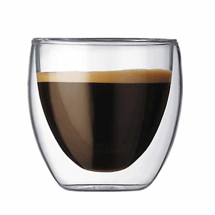 Bodum Pavina, dobbeltvægget drikkeglas, 0,8 dl