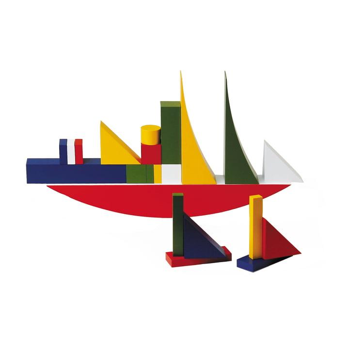 Naef Bauhaus byggespil (22 dele)