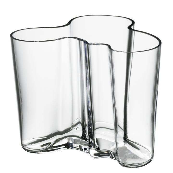 Aalto Savoy vase, klar, 120 mm